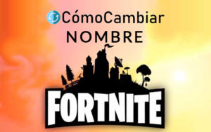 Cambiar nombre FortNite