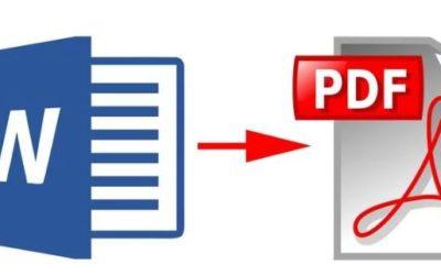 Cómo cambiar PDF en Word