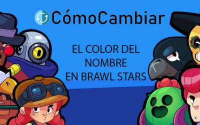 Como cambiar el color del nombre en Brawl Stars