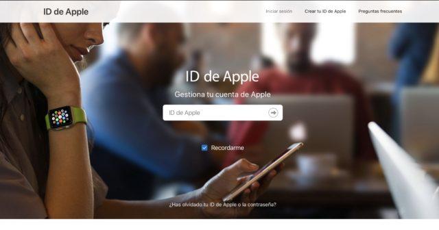Como cambiar el ID de Apple